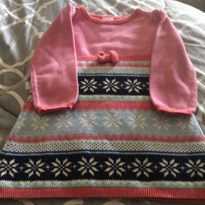 Gymboree 18-24 month sweater dress long sleeve